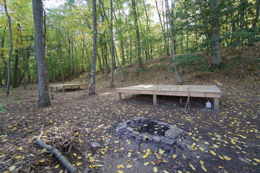 Kings Island River Campsite