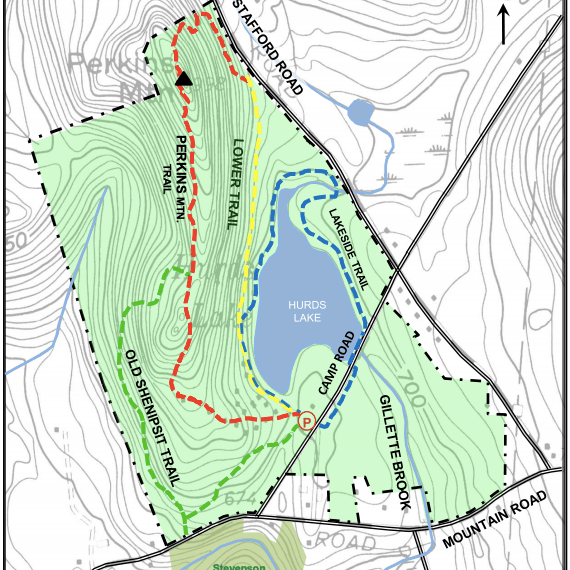 Camp Aya-Po Trail Map