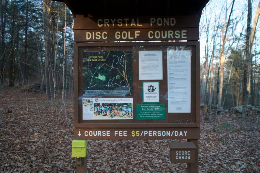 Crystal Pond Disc Golf
