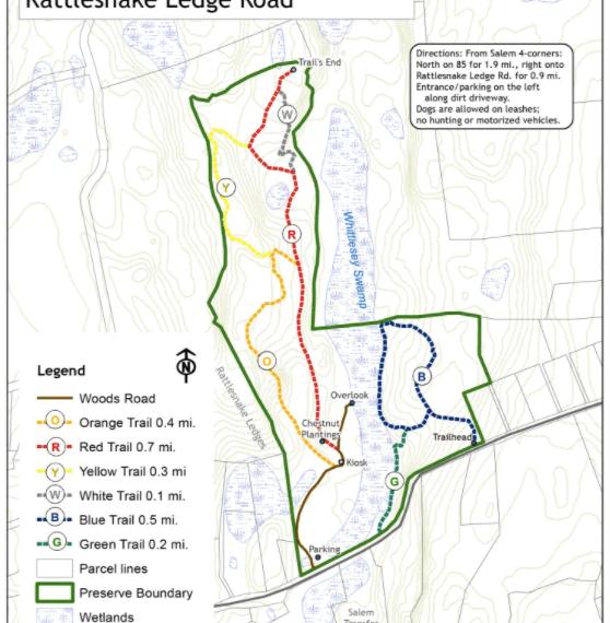 Zemko Sawmill Preserve Trail Map