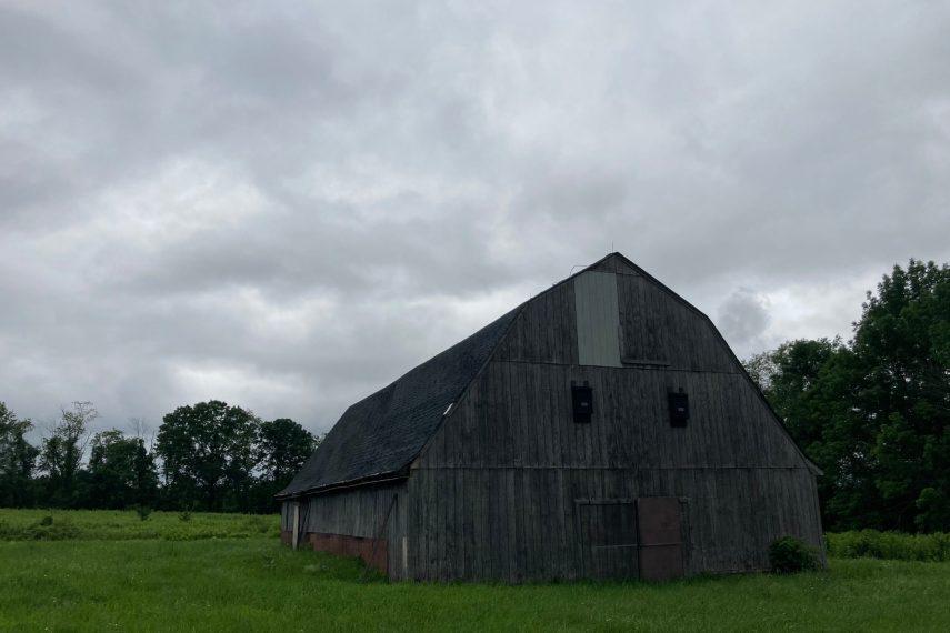 Bear Hill WMA Barn