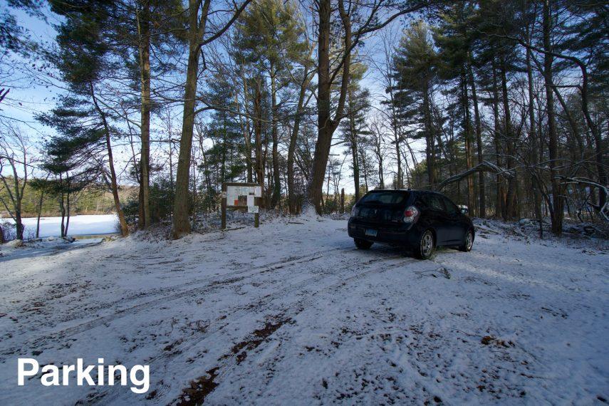Halls Pond Parking