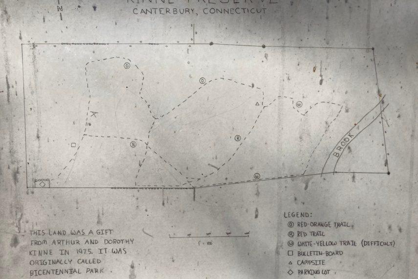 Kinne Preserve Trail Map