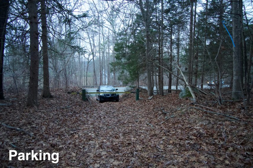Mohegan State Forest Parking
