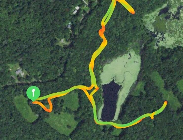 Zemko Pond WMA Trail Map