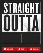 Straight Outta Somewhere