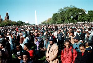 1995 Million Man March By Yoke Mc / Joacim Osterstam (flickr.com) [CC BY 2.0 (http://creativecommons.org/licenses/by/2.0)], via Wikimedia Commons