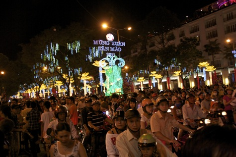 Happy ChineseVietnamese New Year From Saigon Vietnam