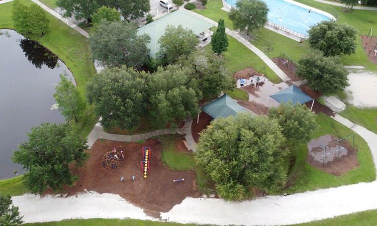 Greenbrook adventure park aerial