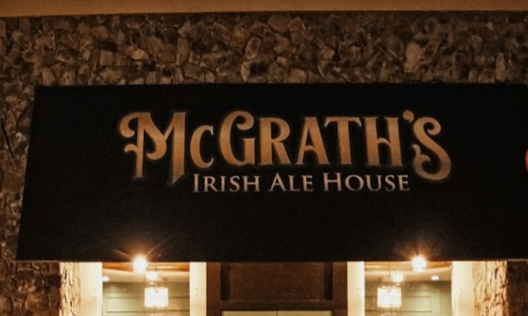 mcGraths Irish Ale House sign