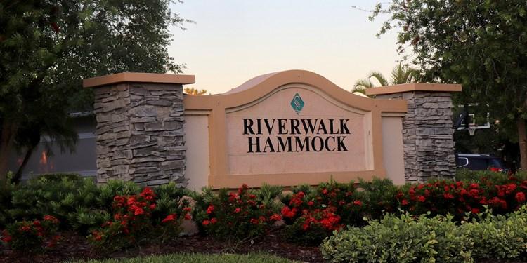 Riverwalk Hammock at Lakewood Ranch Entrance