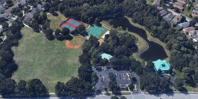 aerial of summerfield park in lakewood ranch florida