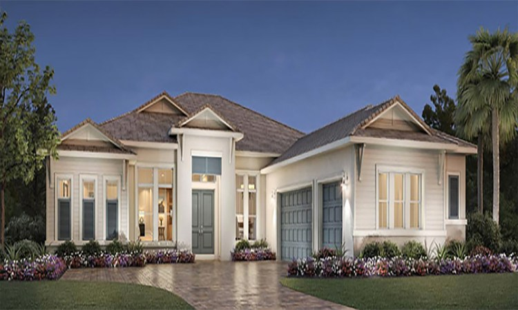 The Isles One Story Home Front Exterior