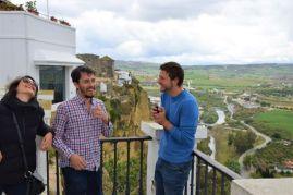 Pueblos blancos white village tour ruta Cadiz Explore la Tierra Visit view panorama Arcos de la frontera vistas