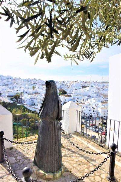 encobijada vejer de la frontera olivo viewpoint vistas panorama pueblo blanco white village Cadiz Explore la Tierra