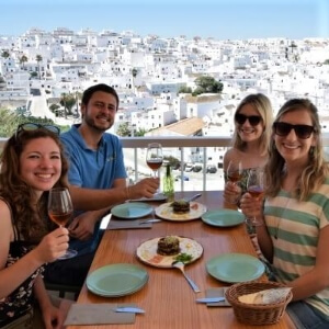 Sherry and Tapa tour Vejer de la Frontera Explore la Tierra tours