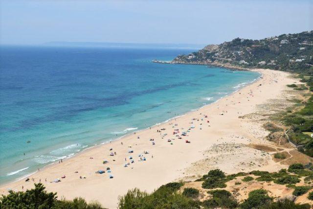 Playa de los Alemanes Best Beach Cádiz