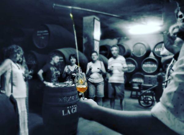 Ultimate sherry tour del Jerez saca de la solera con venencia jerez de la Frontera Explore la Tierra