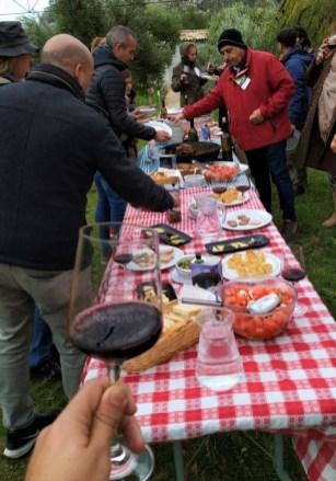 Olive oil tour traditional lunch in white village Zahara de la Sierra Cadiz