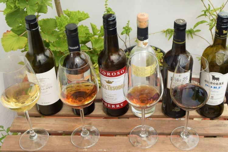 Feature image online virtual Sherry wine tasting Cata vino de Jerez online Cadiz provincia