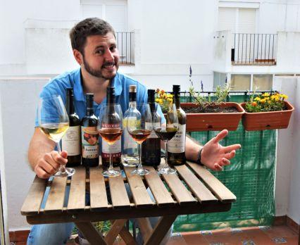 Online virtual Sherry wine tour tasting experience Cadiz Cata de vino de Jerez online