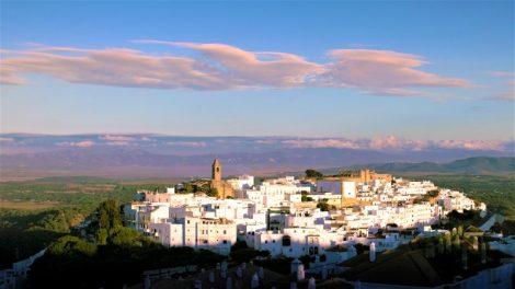 Vejer de la Frontera pueblo blanco de rutas guiadas senderismo Cádiz