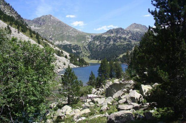 Aiguestores national park senderismo y naturaleza España