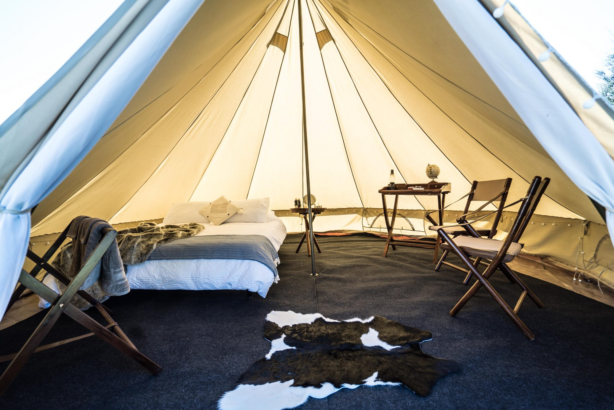 explore life glamping pop up hotel