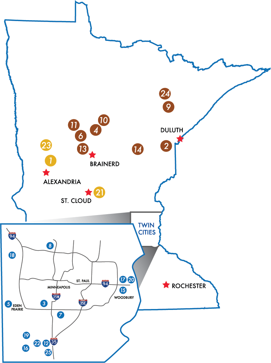 Explore Minnesota Golf Places to Play & Stay