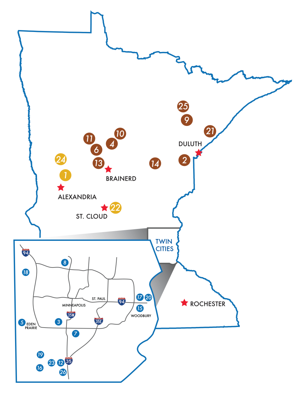 Explore Minnesota Golf Places to Play