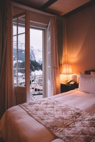 Zimmer im Hotel Regina