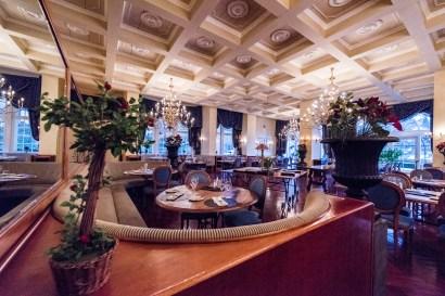 Der Speisesaal des Hotel Regina