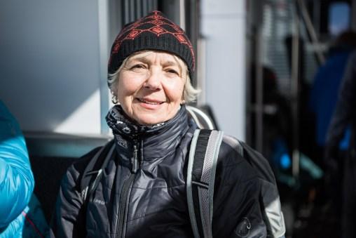 Sandra Kaiser - Unser Guide am zweiten Tag