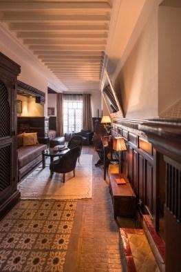 Stilvoll eingerichtete Suite