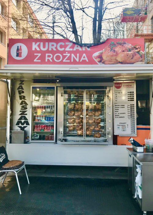 Kurczak z Rozna is some of the best polish food in poland