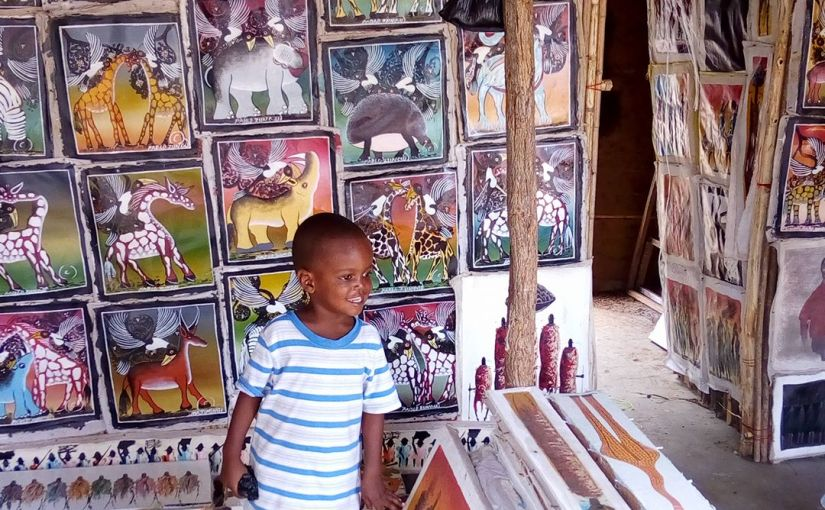 Journey of a 'Createpreneur' – Art in Tanzania