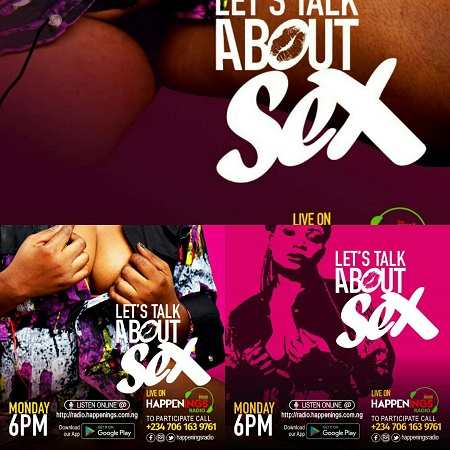 "CreatepeneurAfrica's  Nigerias Tush Bee ventures into the Erotic,  the Sensual and the Sensitive in her new pathway ""Let's Talk about Sex""!"