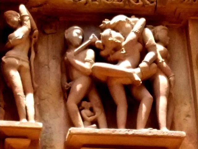 erotic sculptures at Khajuraho 2