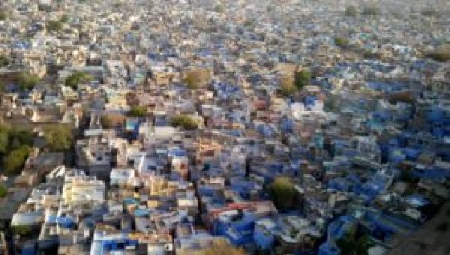 View of Jodhpur (Bule City) from Mehrangarh Fort