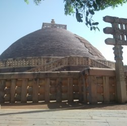 How to reach Sanchi stupa