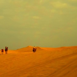 trip to Sam sand dune of Jaisalmer