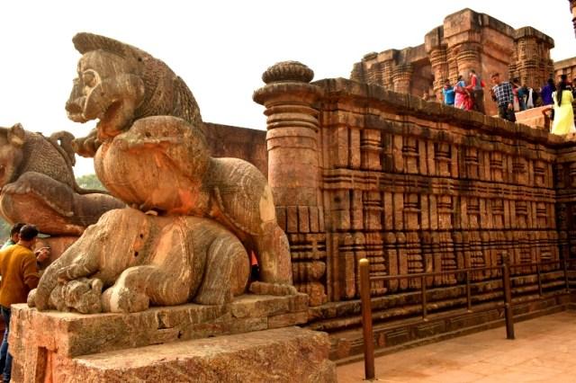 Konark temple image