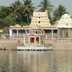 Temple town of south India