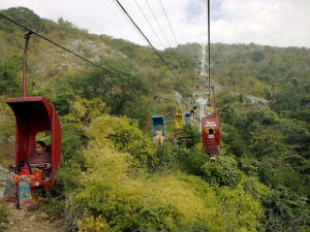 Rope way, Rajgir