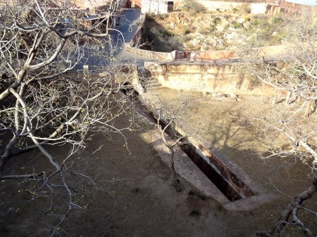 Water harvesting system at Jaigarh fort