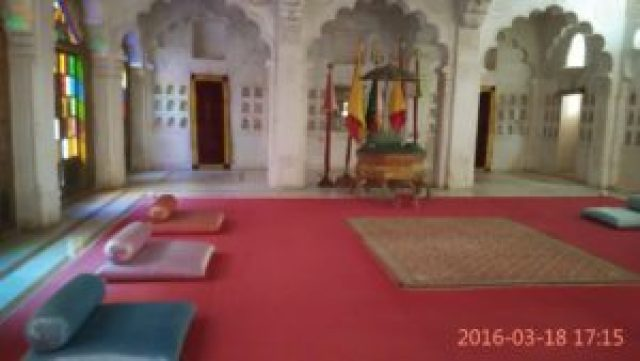Entertainment hall at Jodhpur Fort