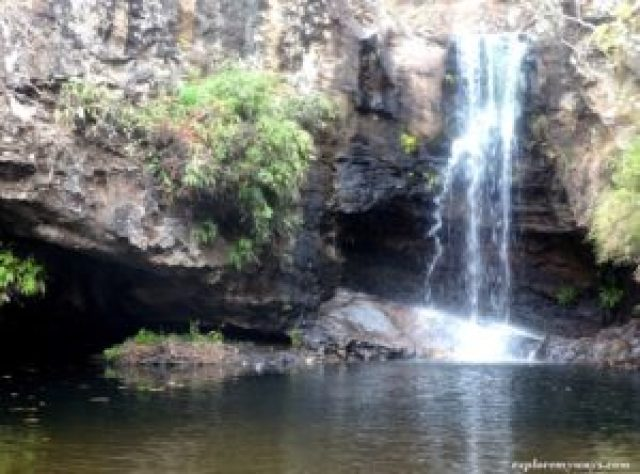 Apsara fall in the forest Pachmarhi