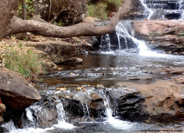 Upper half of Bee fall at Pachmarhi