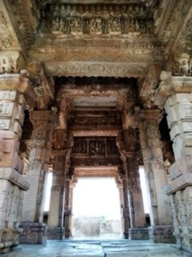 heritage site of Garhi Padavali near Gwalior