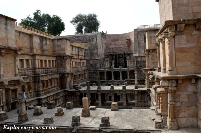 Pics of Famous step-well in Patan